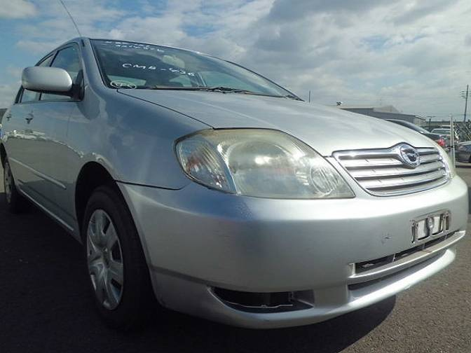 2003 toyota corolla nze121 x for sale japanese used cars. Black Bedroom Furniture Sets. Home Design Ideas