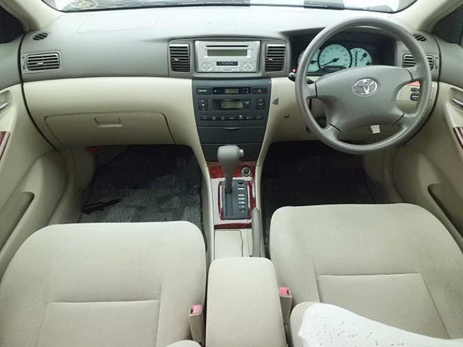 2001 Toyota Corolla Nze121 G For Sale Japanese Used Cars Details Carpricenet