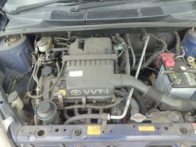 Toyota Vitz SCP10 F D package , photo No.11