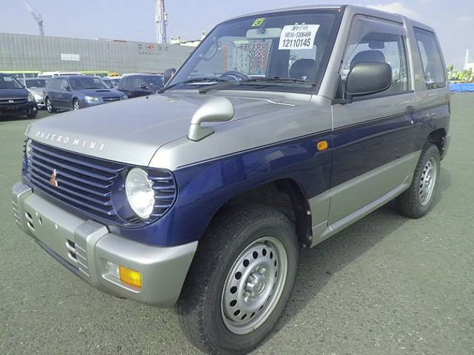 Mitsubishi Pajero Mini H51A XR-II , photo No.11