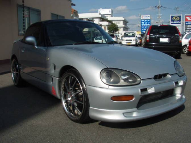1998 suzuki cappuccino base grade for sale japanese used cars details carpricenet. Black Bedroom Furniture Sets. Home Design Ideas