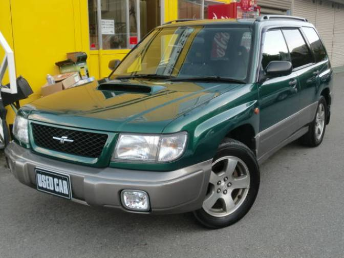 1997 subaru forester sf5 stb for sale japanese used cars details subaru forester sf5 stb photo no18 sciox Images