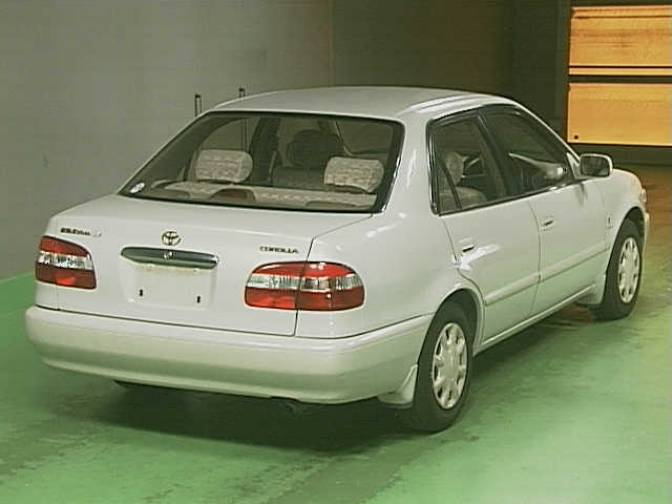 1998 Toyota Corolla Ae110 Se Saloon For Sale Japanese