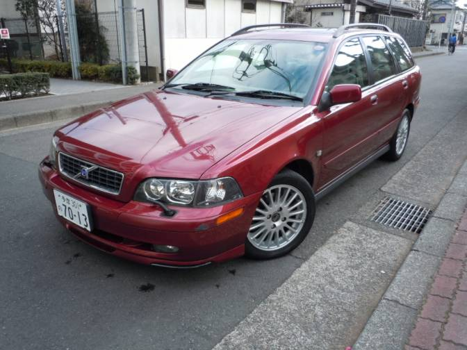 2004/1 Volvo V40 4B4204W Classic for sale, Japanese used ...