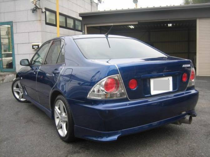 Basic Car Maintenance >> 1999 Toyota Altezza SXE10 RS200 Z edition for sale ...