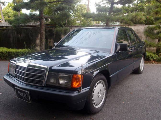1990 mercedes benz 190e 190e for sale japanese used cars. Black Bedroom Furniture Sets. Home Design Ideas
