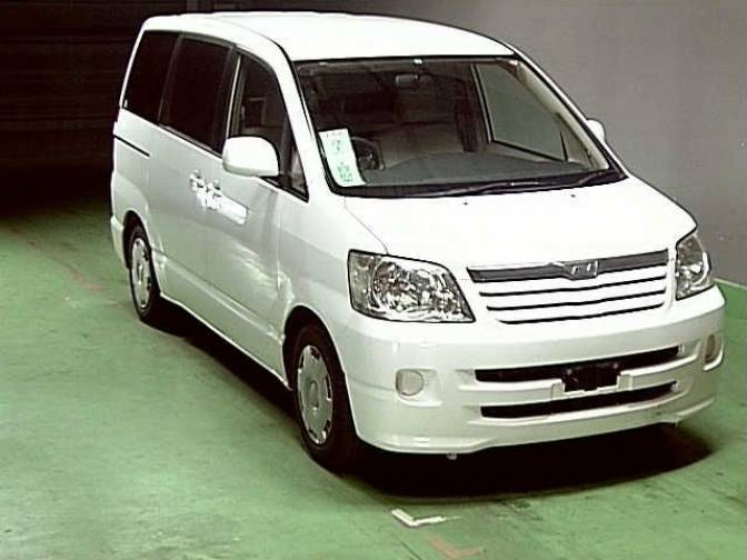2002 Toyota Noah AZR60G X for sale, Japanese used cars ...