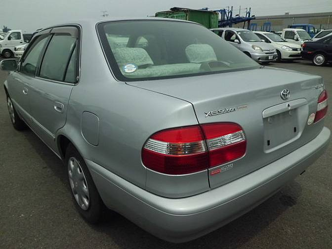 1998 Toyota Corolla Ae110 Xe Saloon Ltd For Sale Japanese