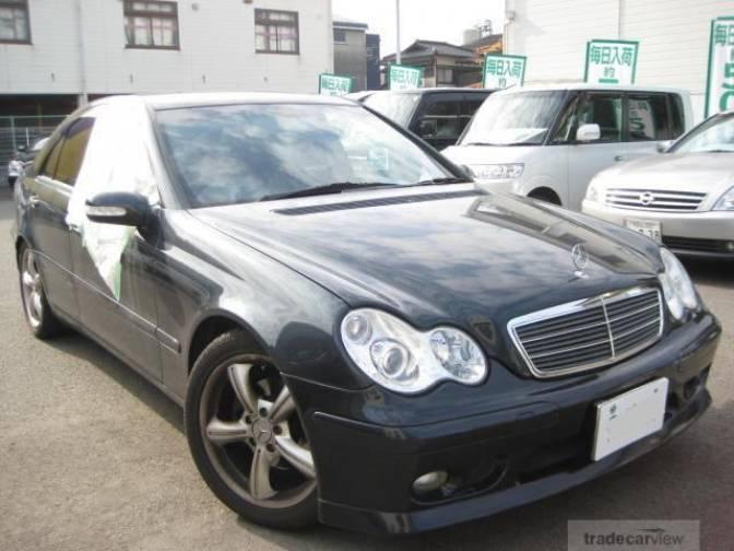 2001 mercedes benz c180 203035 c180 for sale japanese used cars details carpricenet. Black Bedroom Furniture Sets. Home Design Ideas