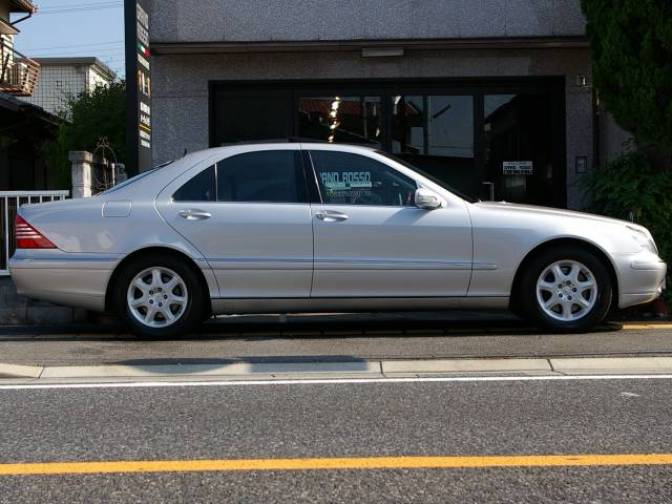 1999 mercedes benz s430 s430 for sale japanese used cars for Mercedes benz s430 for sale