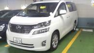 Used Toyota vellfire GGH20W  3.5V for sale