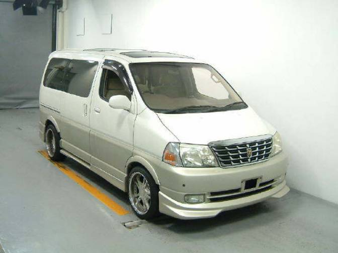 2002 Toyota Grand Hiace VCH10W G L edition for sale, Japanese used