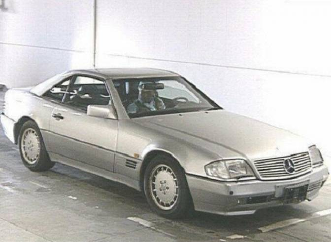 1991 mercedes benz sl500 129066 sl500 for sale japanese for Mercedes benz sl500 price