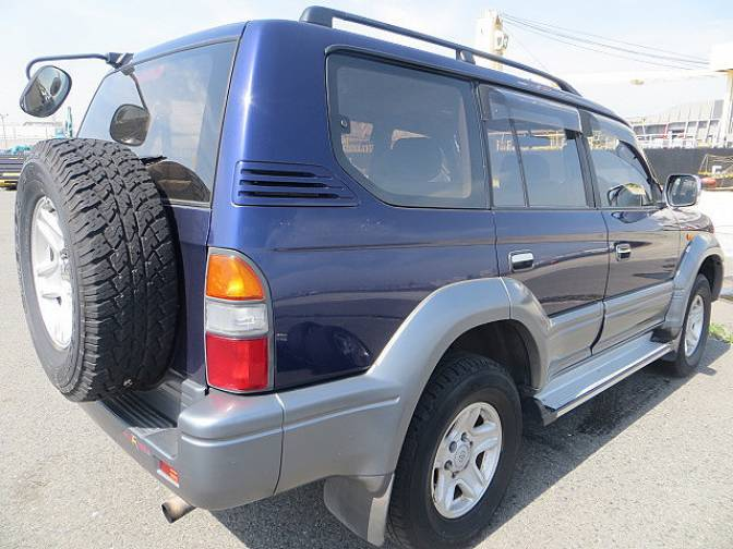 Toyota Land Cruiser Prado RZJ95W 4WD TX LTD , photo No.39