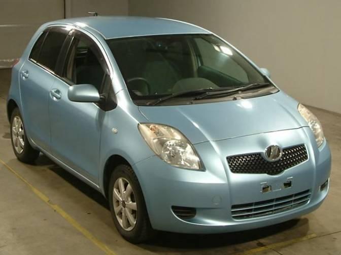 2005/3 Toyota Vitz KSP90 F for sale, Japanese used cars ...