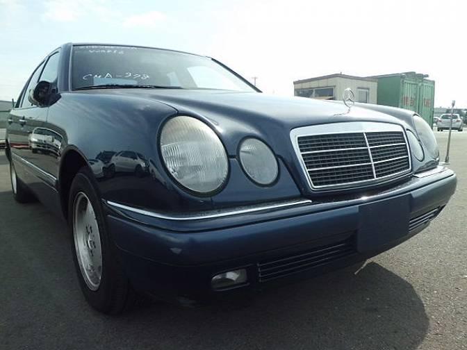 1997 mercedes benz e230 210037 e230 for sale japanese for Mercedes benz e230