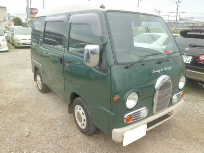 1998 subaru sambar van kv3 classic for sale japanese used. Black Bedroom Furniture Sets. Home Design Ideas