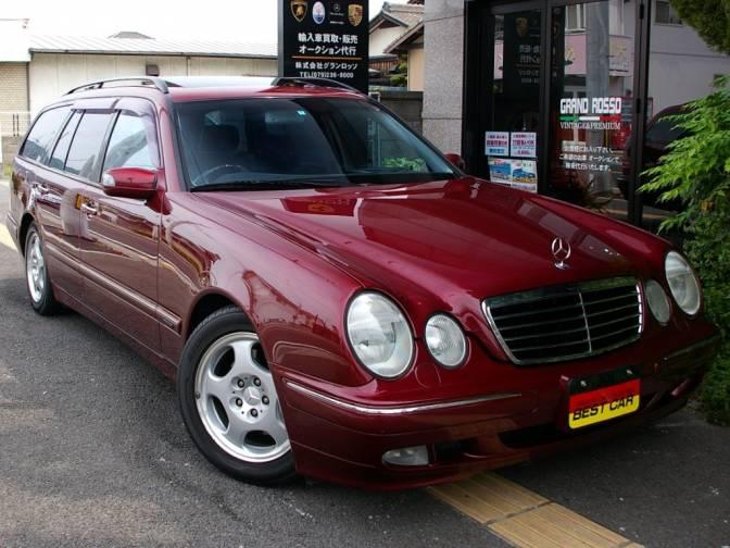 2000 2 mercedes benz e320 stationwagon 210265 e320 station for Mercedes benz 2000 e320