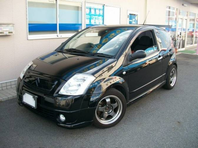2006 citroen c2 1 6vtr for sale japanese used cars details carpricenet. Black Bedroom Furniture Sets. Home Design Ideas