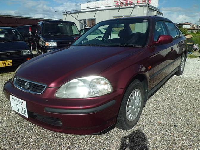 1996 honda civic ferio ek3 vi for sale japanese used cars. Black Bedroom Furniture Sets. Home Design Ideas