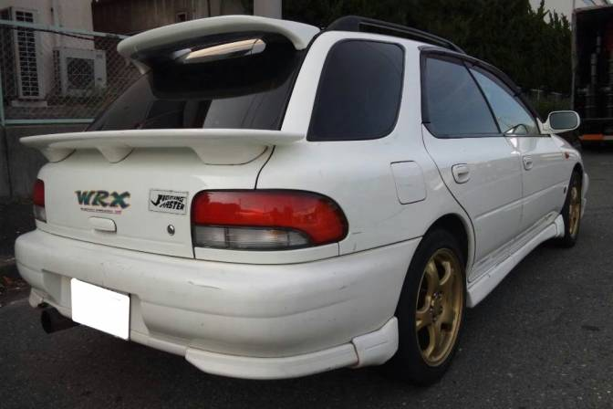 Used Subaru Wrx For Sale >> 1997 Subaru Impreza Sedan GF8 WRX for sale, Japanese used cars details - CarPriceNet
