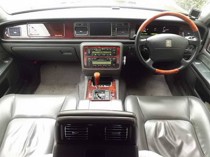 2000 Toyota Century Gzg50 Standard Specifications Car Dual