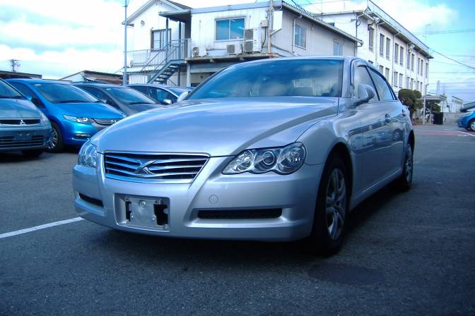 Toyota Mark X DBA-GRX120 250G F package