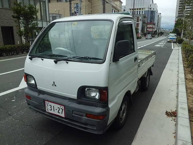 1997 Mitsubishi Minicab Truck U41T-0421086 G for sale, Japanese