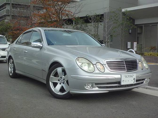2002 mercedes benz e500 gh 211070 e500 avantgarde for sale for Mercedes benz e500 for sale