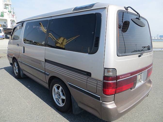 1995 Toyota Hiace Wagon Super Custom Turbo For Sale