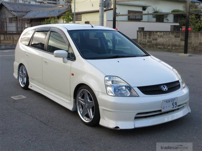 2002 Honda Stream RN3 IS for sale, Japanese used cars ...
