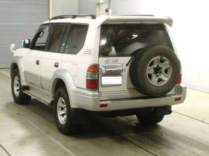 1998 Toyota Land Cruiser Prado Kzj95w D T Tx Ltd 4wd Popular Car In