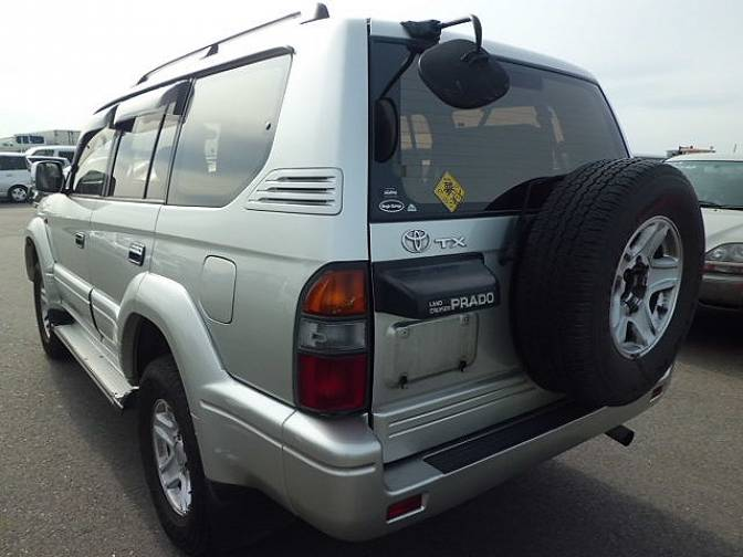 Toyota Land Cruiser Prado KZJ95W TX limited Diesel , photo No.68