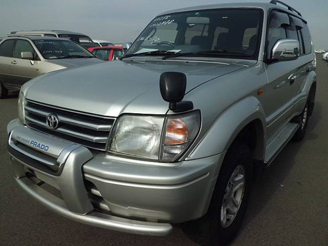 Toyota Land Cruiser Prado KZJ95W TX limited Diesel , photo No.69