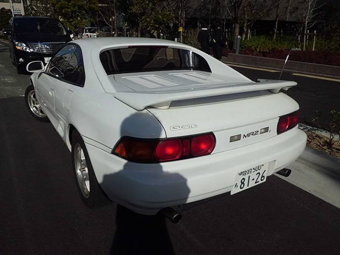 1995 Toyota Mr2 Sw20 G Limited For Sale Japanese Used