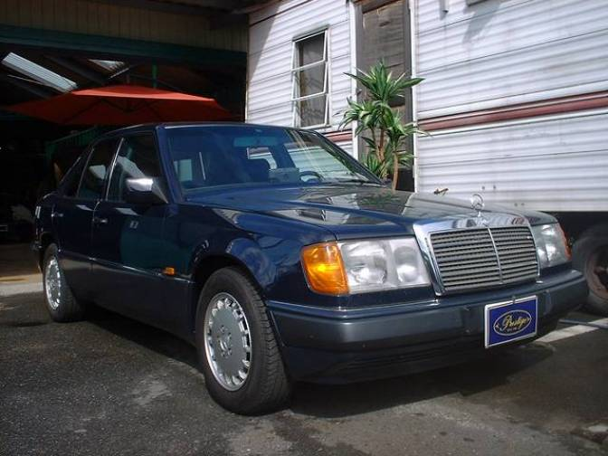 1990 Mercedes-Benz E300 300E for sale, Japanese used cars ...