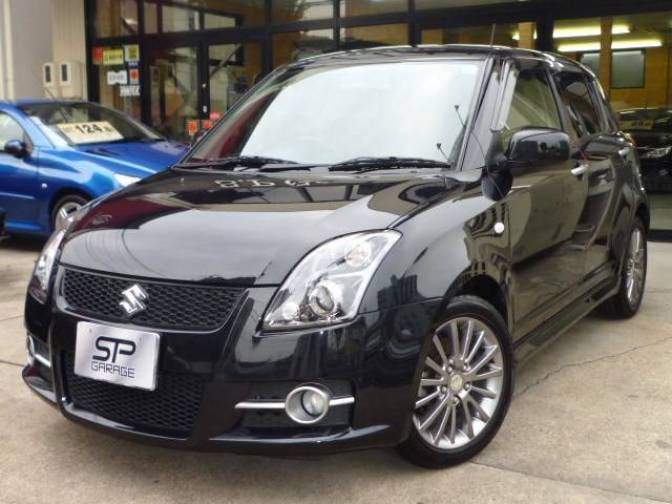 2007 suzuki swift sports limited for sale japanese used cars details carpricenet. Black Bedroom Furniture Sets. Home Design Ideas