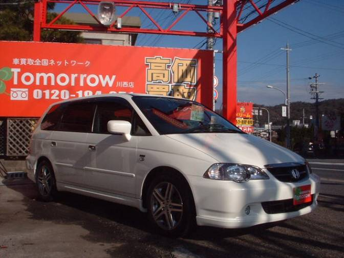 2003 Honda Odyssey Ra6 Absolute For Sale Japanese Used