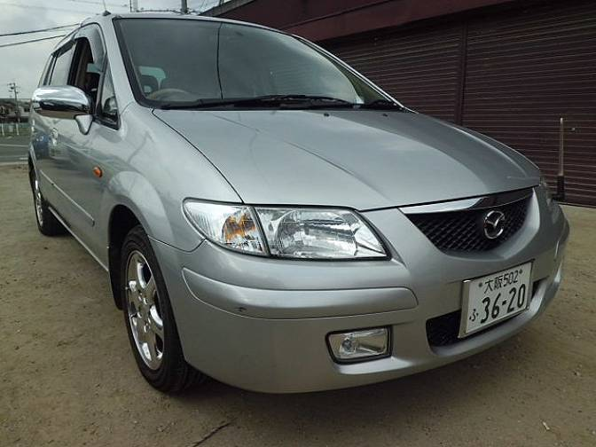 2001 mazda premacy cp8w g for sale japanese used cars. Black Bedroom Furniture Sets. Home Design Ideas