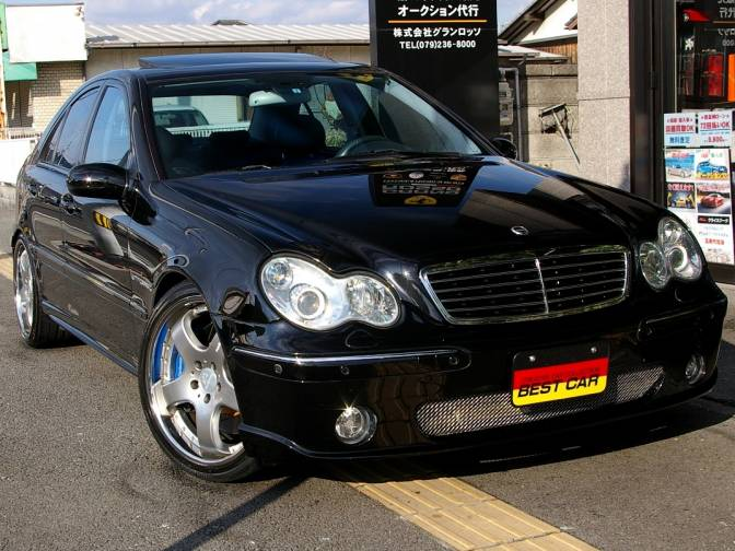 2001\/10 MercedesBenz C320 203064 Carlsson CM32K for sale, Japanese used cars details  CarPriceNet