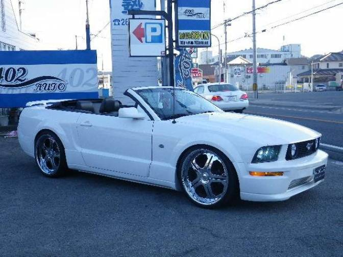2005 ford mustang convertible for sale japanese used cars details carpricenet. Black Bedroom Furniture Sets. Home Design Ideas