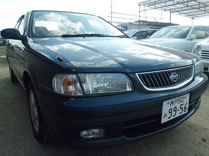 2000 Nissan Sunny FB15 Super saloon for sale, Japanese used
