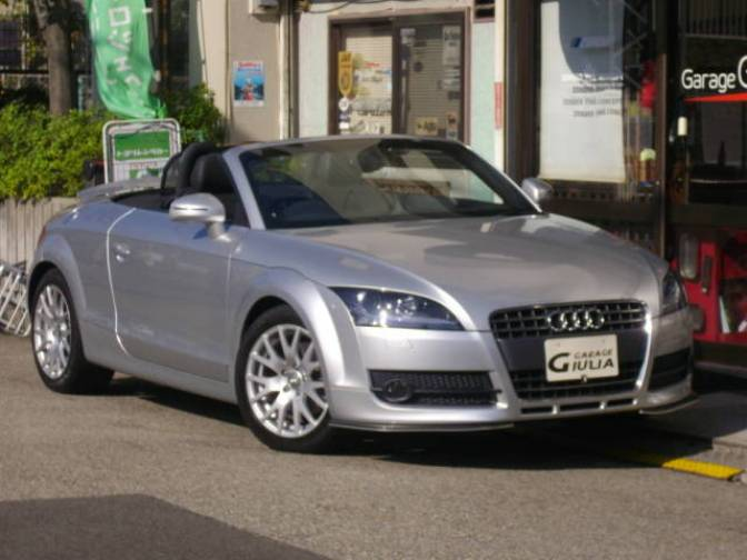 2008 audi tt roadster 2 0tfsi for sale japanese used cars details carpricenet. Black Bedroom Furniture Sets. Home Design Ideas