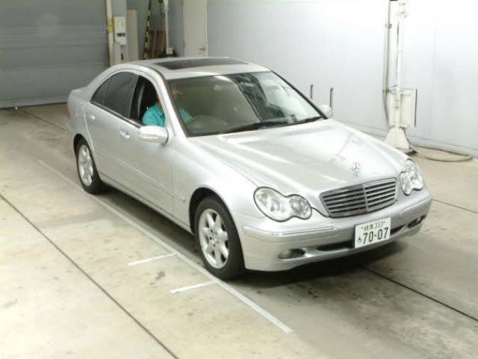 2001 mercedes benz c240 203061 c240 for sale japanese