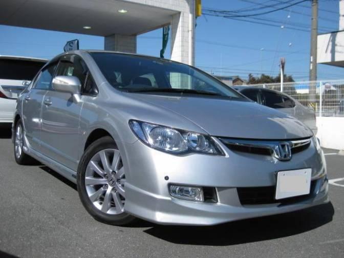 Honda Civic Radio Code >> 2008/3 Honda Civic Hybrid FD3 MXST for sale, Japanese used ...