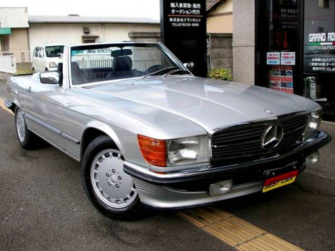 1988 mercedes benz 500sl 500sl for sale japanese used for Mercedes benz 500 sl for sale