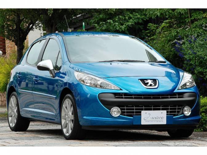 2009 peugeot 207 feline for sale japanese used cars. Black Bedroom Furniture Sets. Home Design Ideas