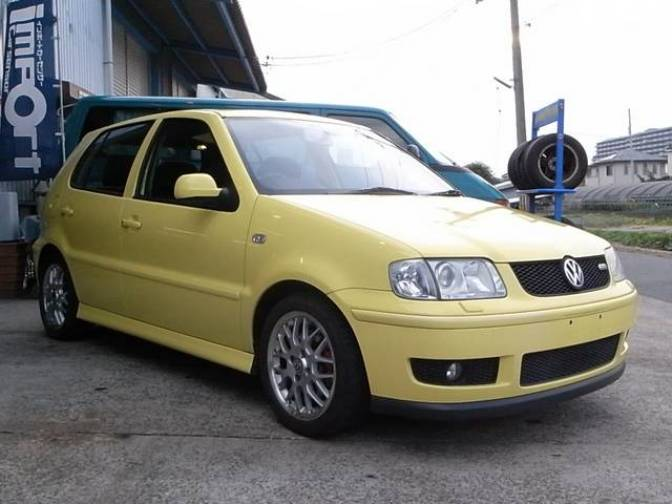 2001 volkswagen polo gti for sale japanese used cars details carpricenet. Black Bedroom Furniture Sets. Home Design Ideas