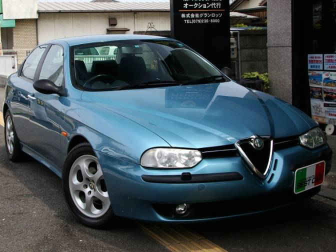 1999 3 alfa romeo 156 932a2 2 0 twin spark selespeed for sale japanese used cars details. Black Bedroom Furniture Sets. Home Design Ideas