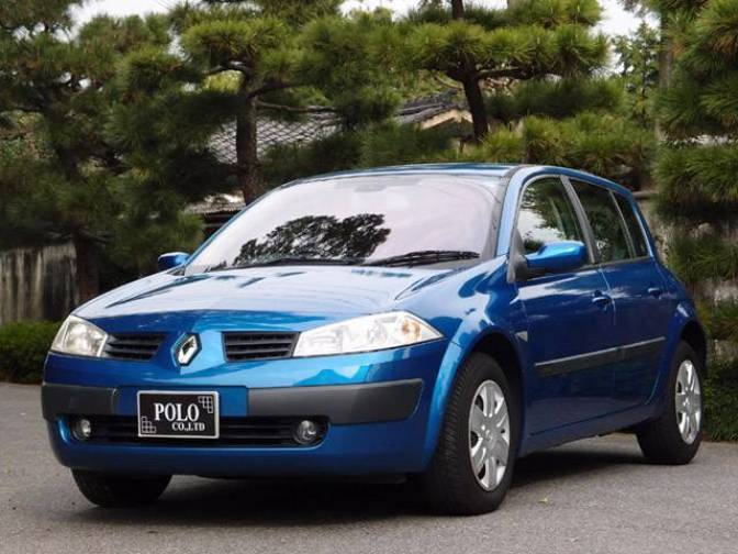2005 renault megane 1 6 for sale japanese used cars details carpricenet. Black Bedroom Furniture Sets. Home Design Ideas